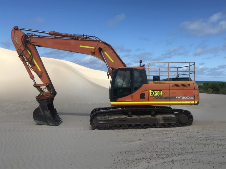 30 tonne Excavator for hire - Earthmoving Equipment Hire