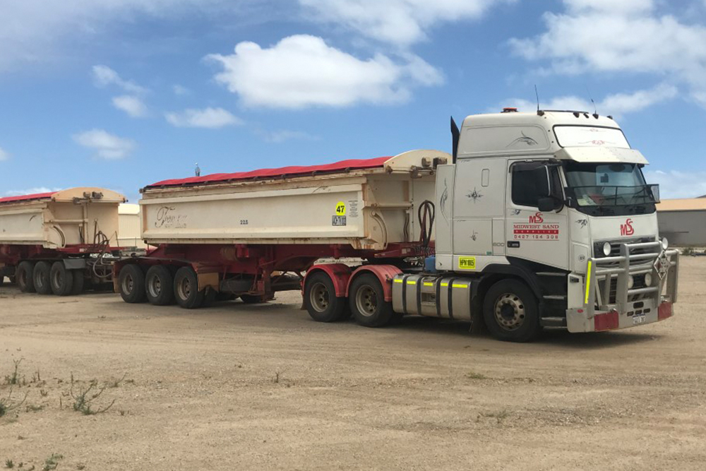 Lime Sand Cartage
