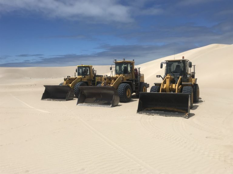 Front End Loaders = Earthmoving Equipment Hire Geraldton